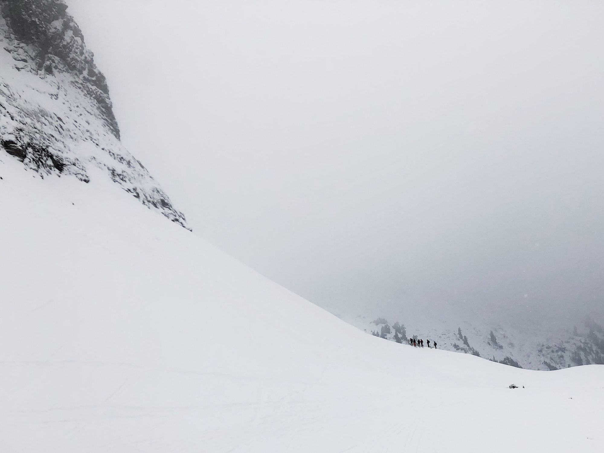 Mt. Baker, WA, landscapes, snow