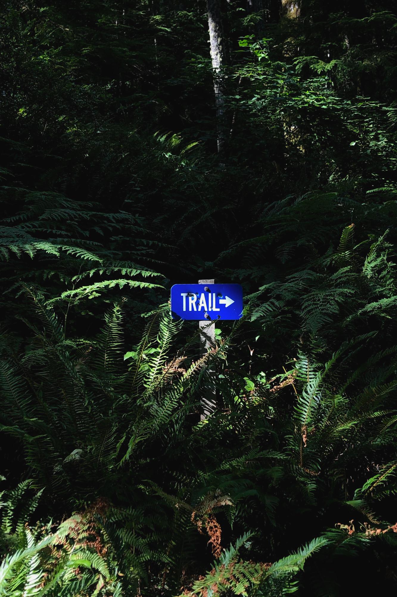 Green Mountain, WA, signs