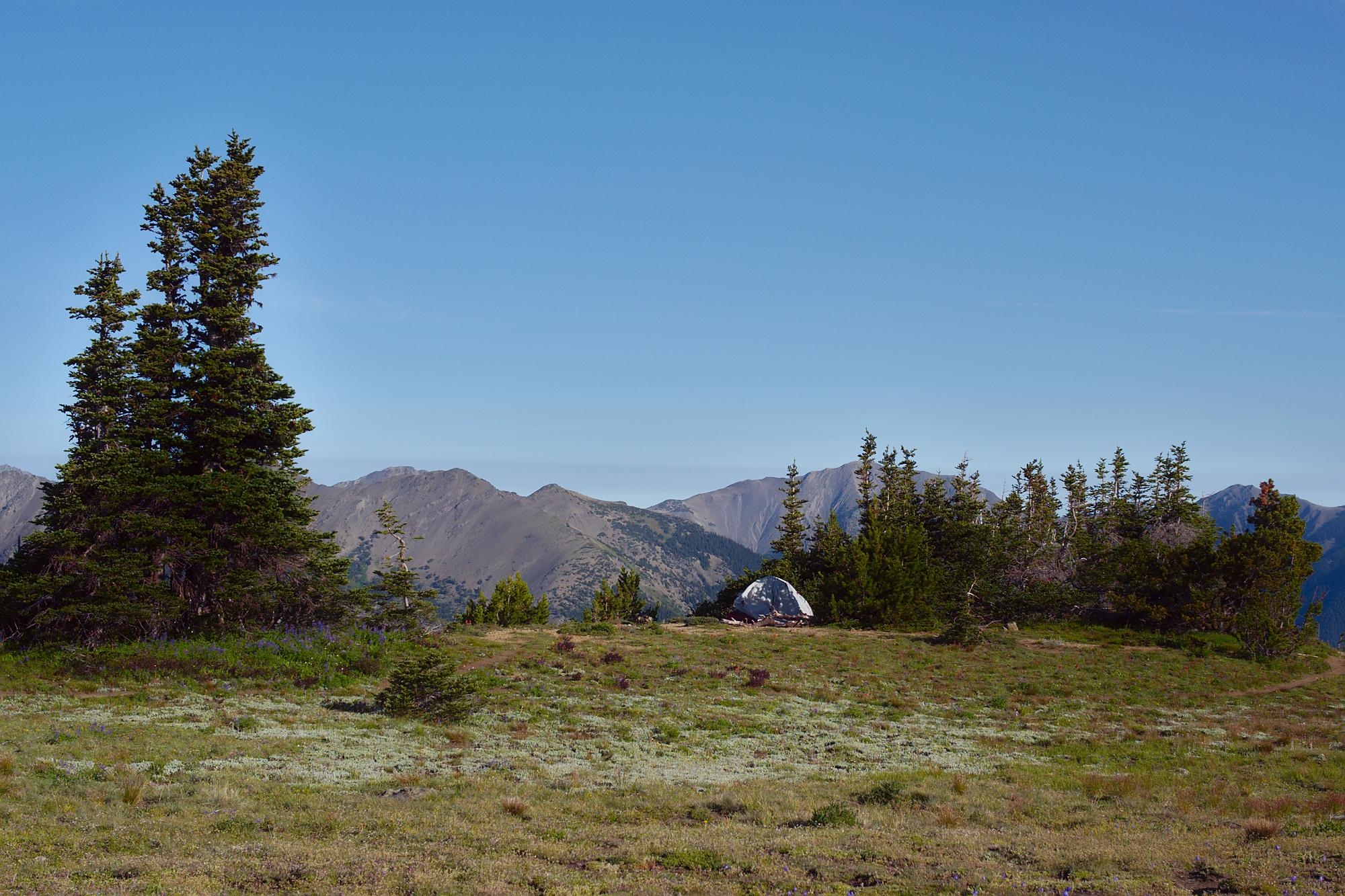 Olympic Peninsula, WA, landscapes, camping