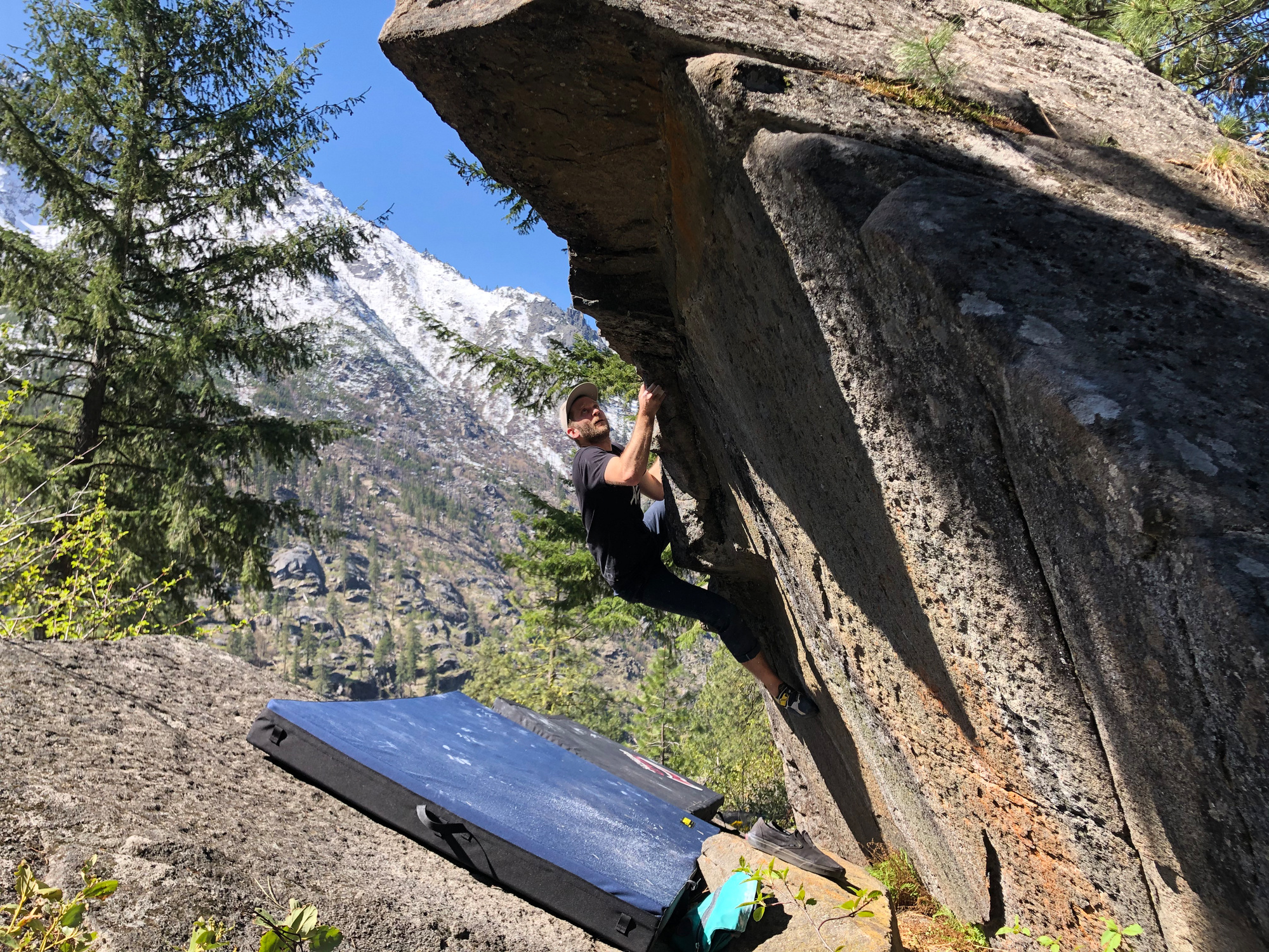 Leavenworth, WA, climbing, Jacob