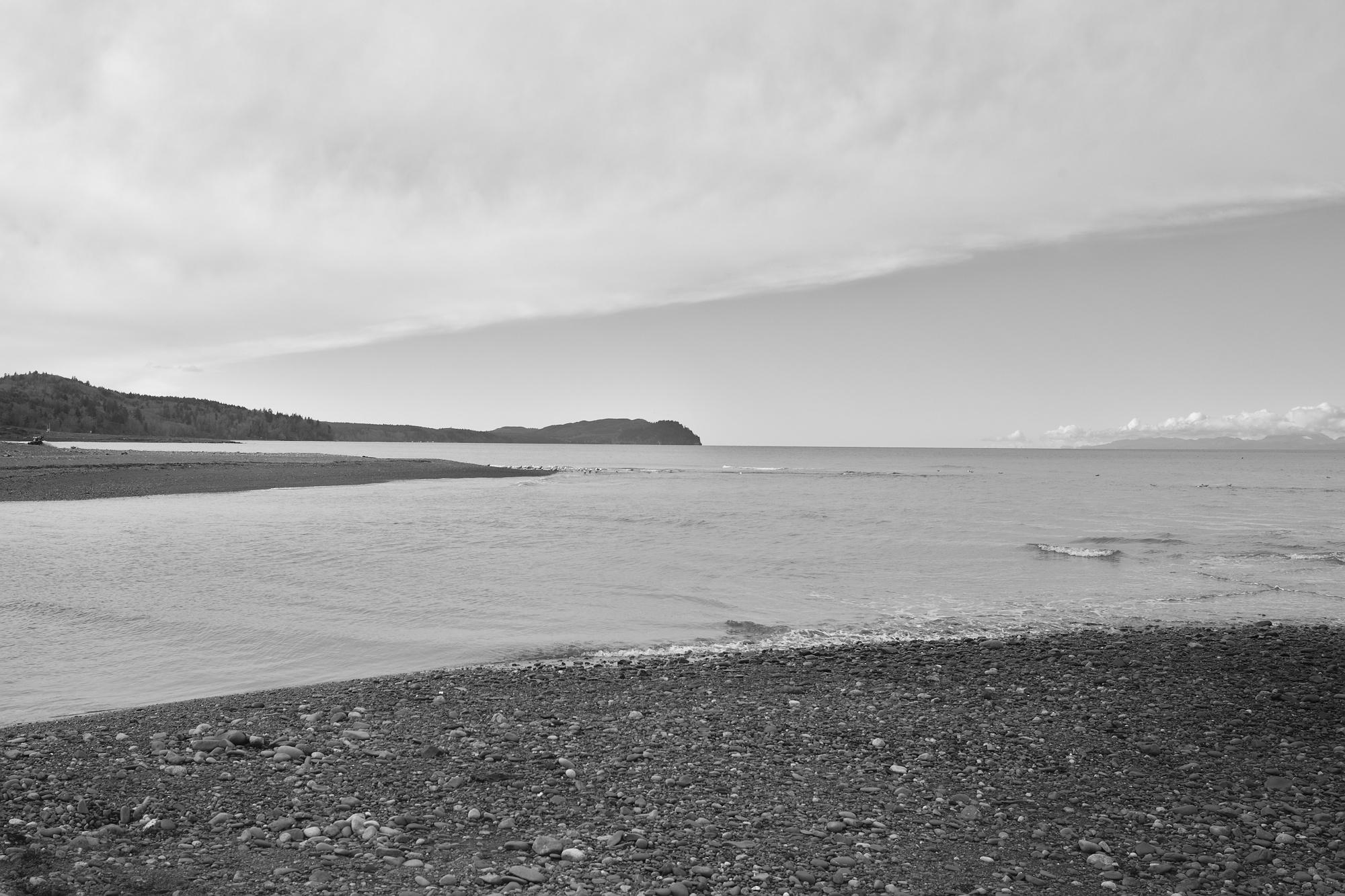 Olympic Peninsula, WA, landscapes, b&w, ocean