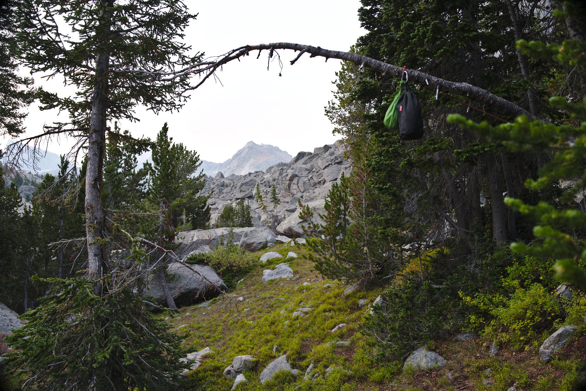 Wind River Range, WY, camping, landscapes