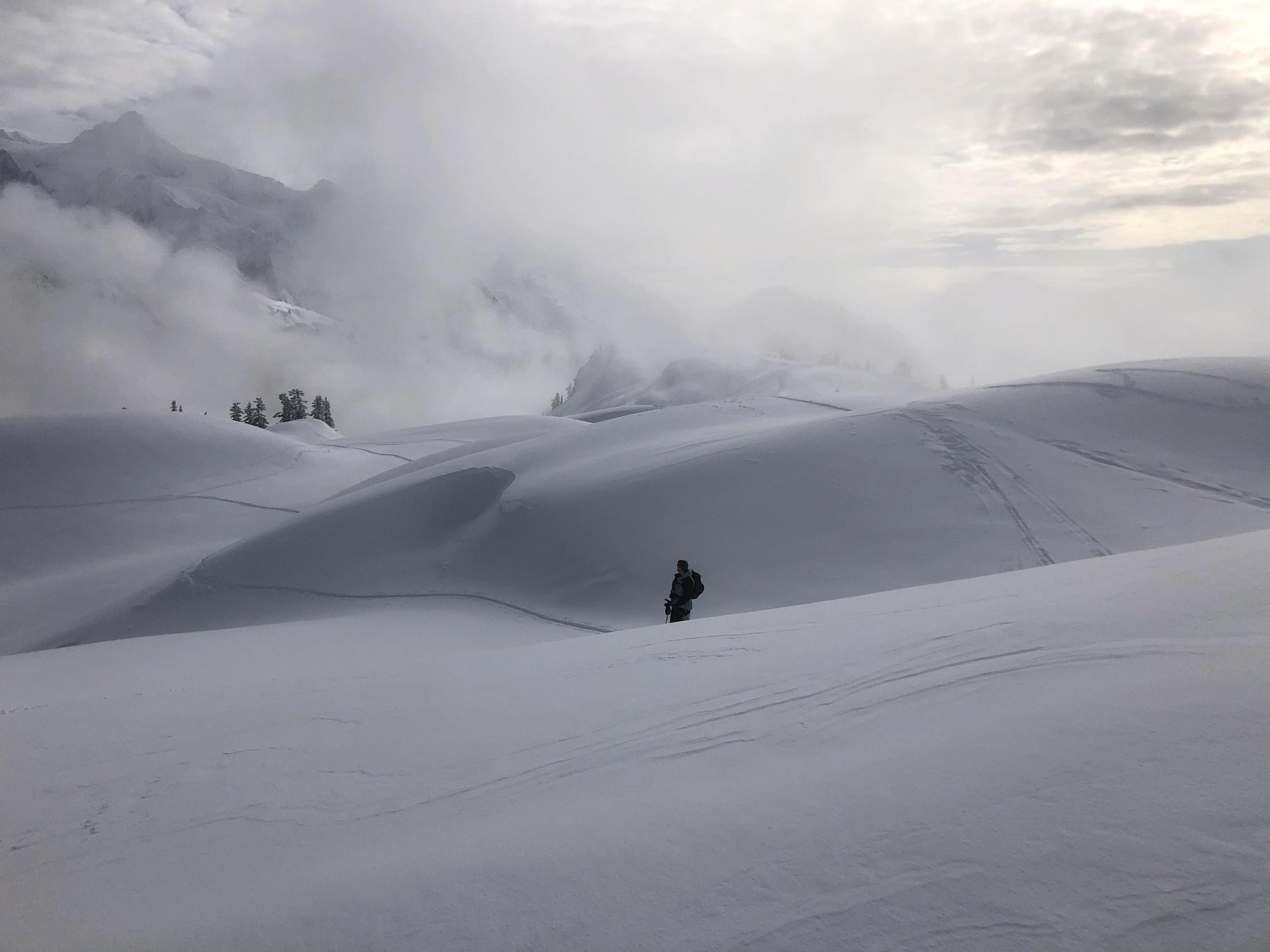 Mt. Baker, WA, Kyl, snowboarding