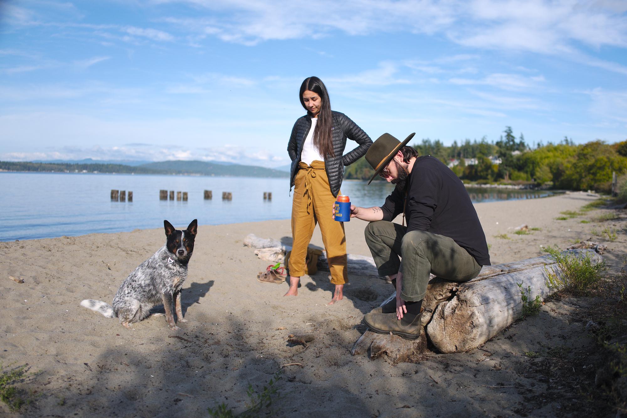 Olympic Peninsula, WA, Tasha, Julian, Olives, dogs, portraits